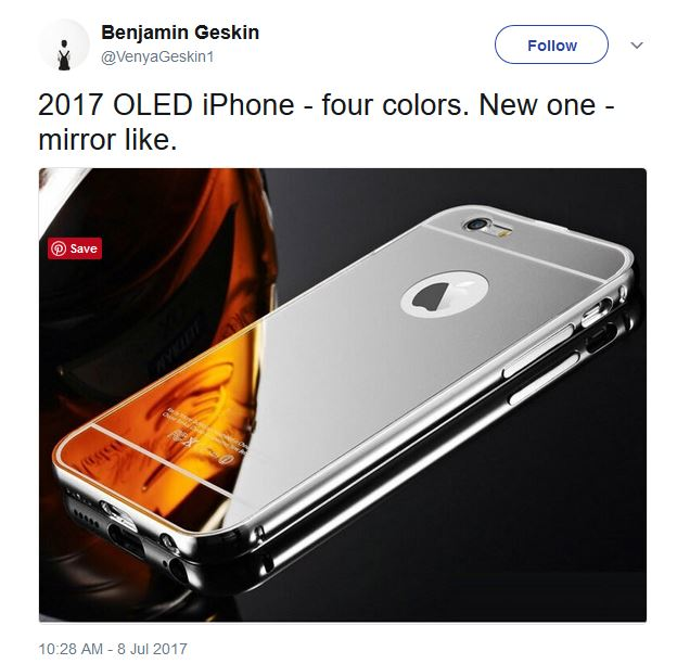 apple iphone 8 four color options